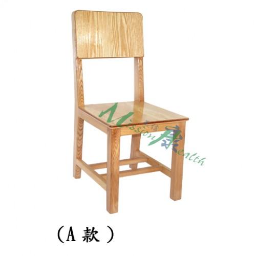 GA-0602  原木椅