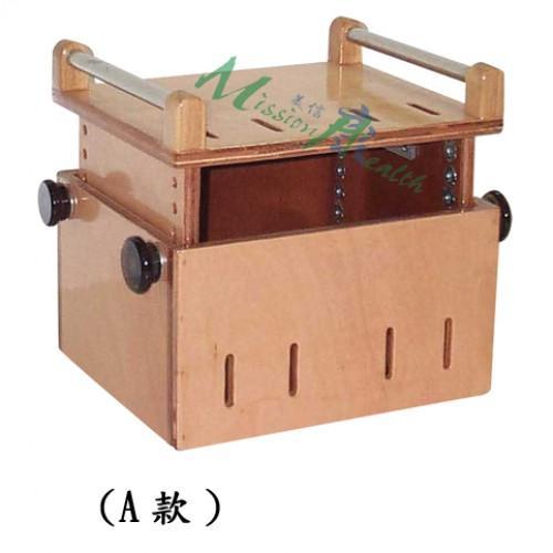 GA-0511  扶手木箱凳