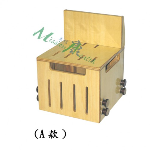GA-0512  有背木箱凳